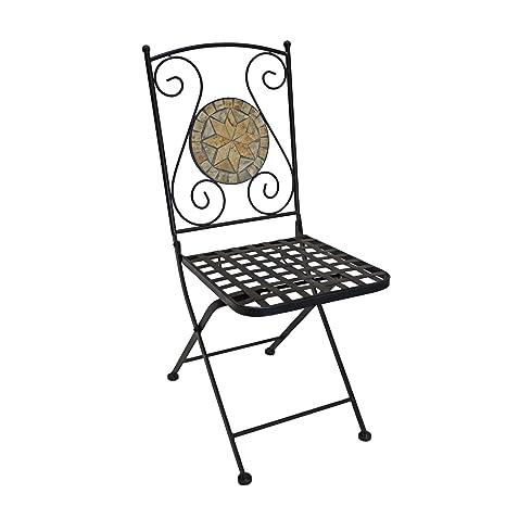 Amazon.com: Metal plegable silla de restaurante producto ...