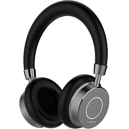 Lauson PH202 Auriculares Bluetooth Inalámbricos con micrófono, negro