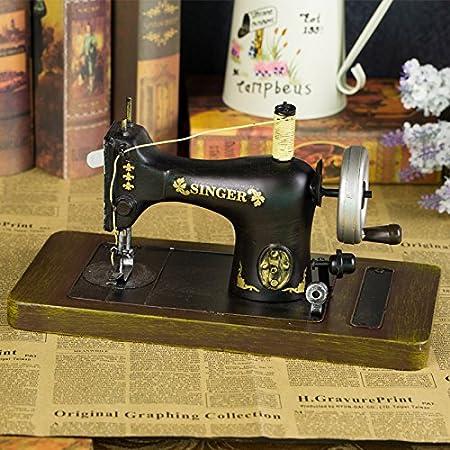GFEI Maquina de coser antigua retro muebles hogar muebles hierro estaño modelo PROPS / tienda de ropa la decoracion de ventana,L: Amazon.es: Hogar