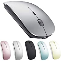 Rechargeable Bluetooth Mouse for Mac Laptop Wireless Bluetooth Mouse for MacBook Pro MacBook Air Windows Notebook…