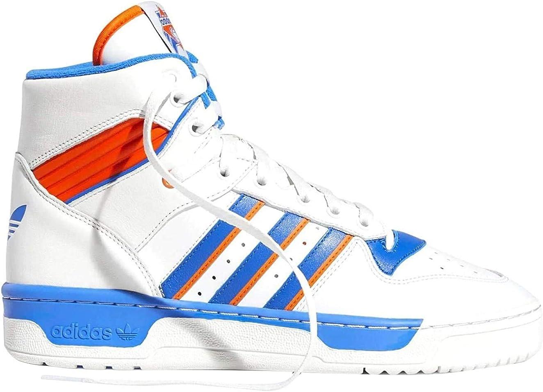 adidas Originals Rivalry, Crystal White Blue Orange