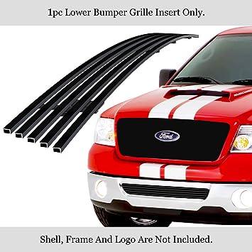 Fits 2006-2008 Ford F-150 Lower Bumper Black Billet Grille Insert