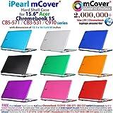 iPearl mCover Hard Shell Case for 15.6 Acer Chromebook 15 C910 / CB5-571 / CB3-531 series Laptop (Blue)