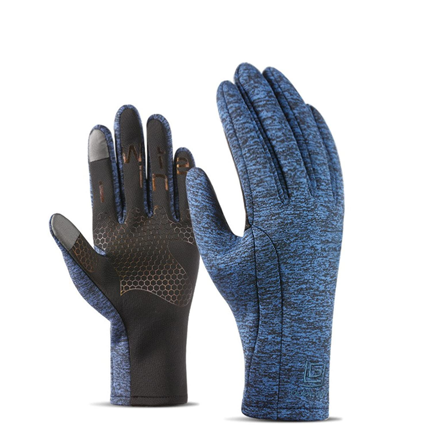 efd916deba687e Unisex Winter Gloves Phone Touch Screen Waterproof Warm Inner Thermal for  Men Women Work Sports Outdoor Motorcycle Cycling
