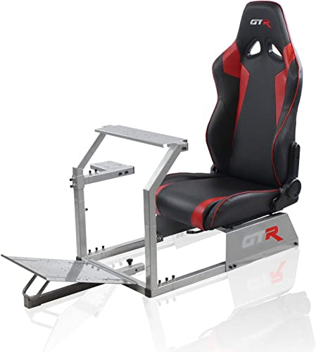 GTR Simulator GTA-S-S105LBKRD GTA Model Silver Frame