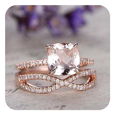 Amazon.com: Dabangjewels - Juego de anillos de infinito para ...