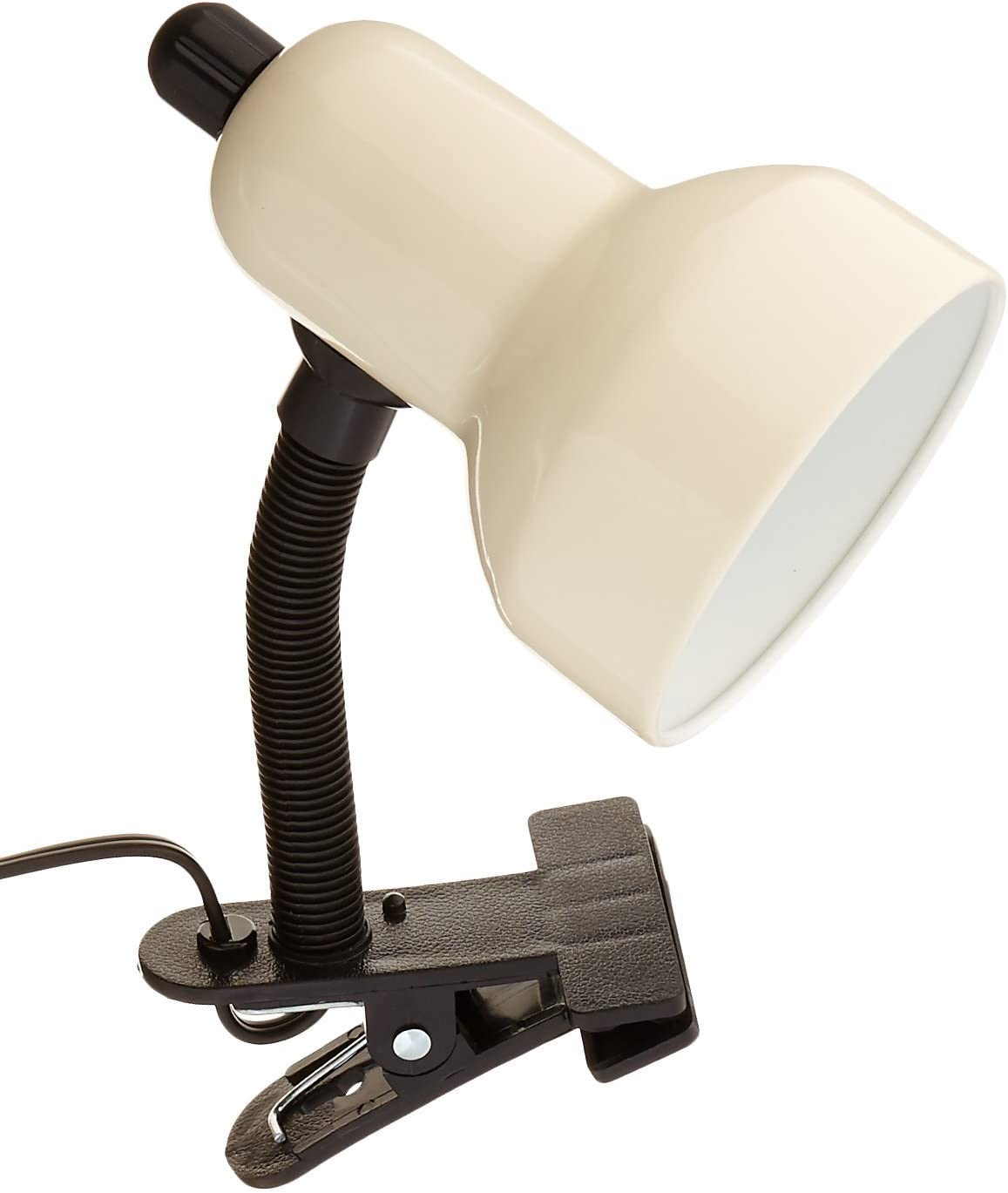Lite Source LS-111IVY Clip-On Lamp, Ivy