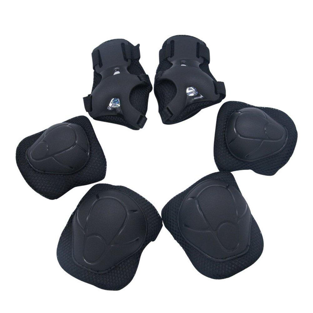 6 pezzi di protezione da polso per il gomito del gomito per i bambini. Set di protezioni di sicurezza per pattini rollerblade da ciclismo LanLan
