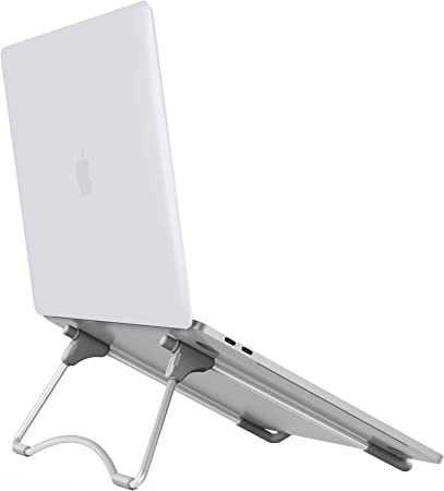 Folding Adjustable Laptop Desktop Stand Portable Notebook Computer Riser Holder