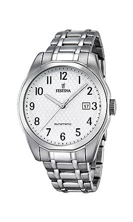Edelstahl Analog Automatik Armband Herren Mit Uhr F168841 Festina 0mnNvw8