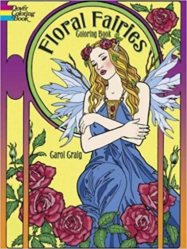 Floral Fairies Coloring Book (Dover Coloring Books): Amazon ...
