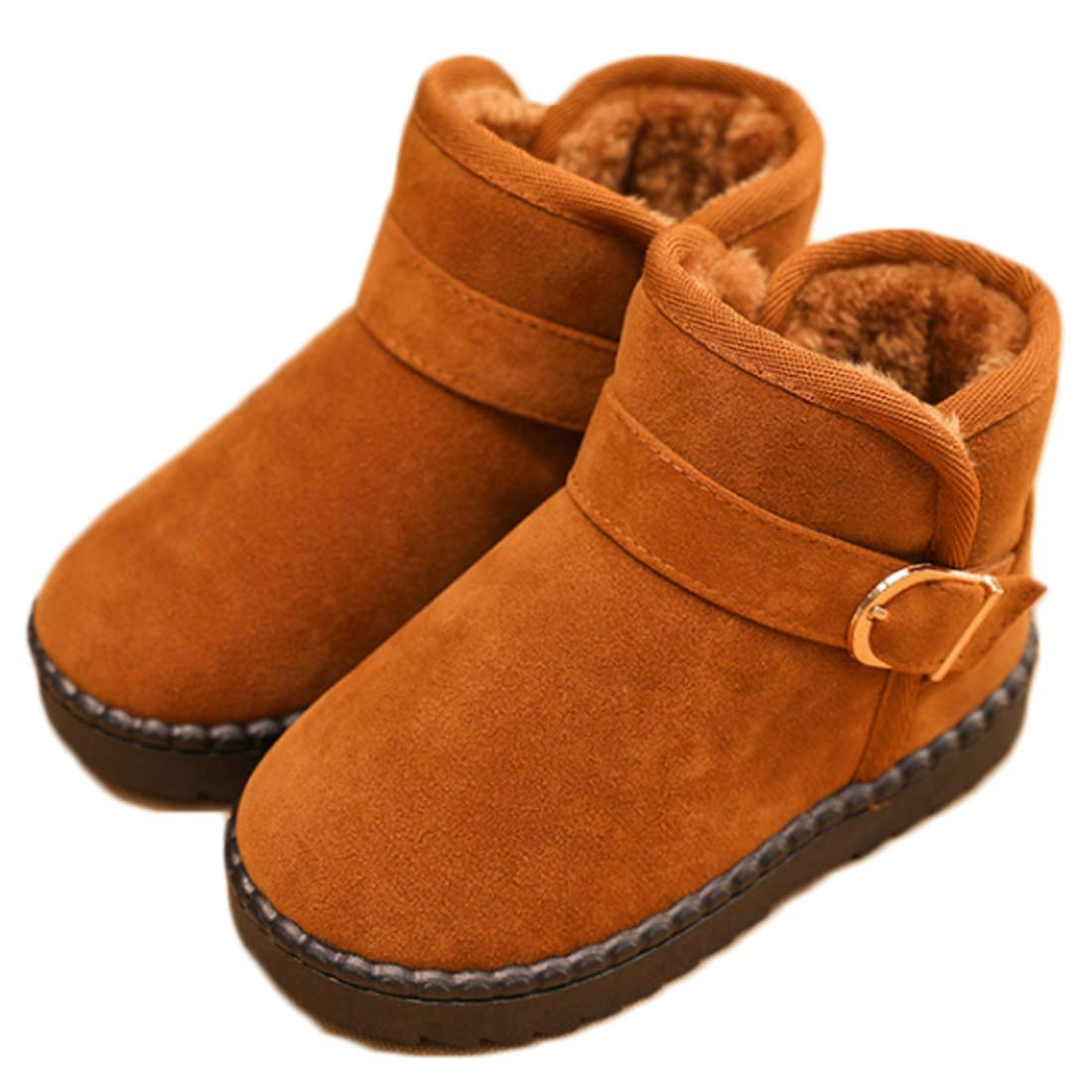 Aiweijia Children lightweight and durable anti-skiing boots Soft warm snow boots