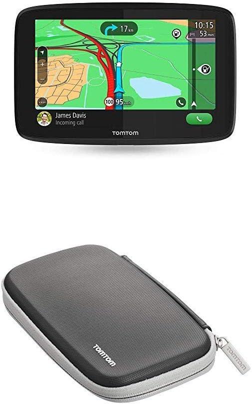 Tomtom Navigationsgerät Go Essential 5 Zoll Stauvermeidung Dank Tomtom Traffic Karten Updates Europa Freisprechen Updates über Wi Fi Tmc Schutzhülle Geeignet Für Tomtom Navigationsgeräte Navigation