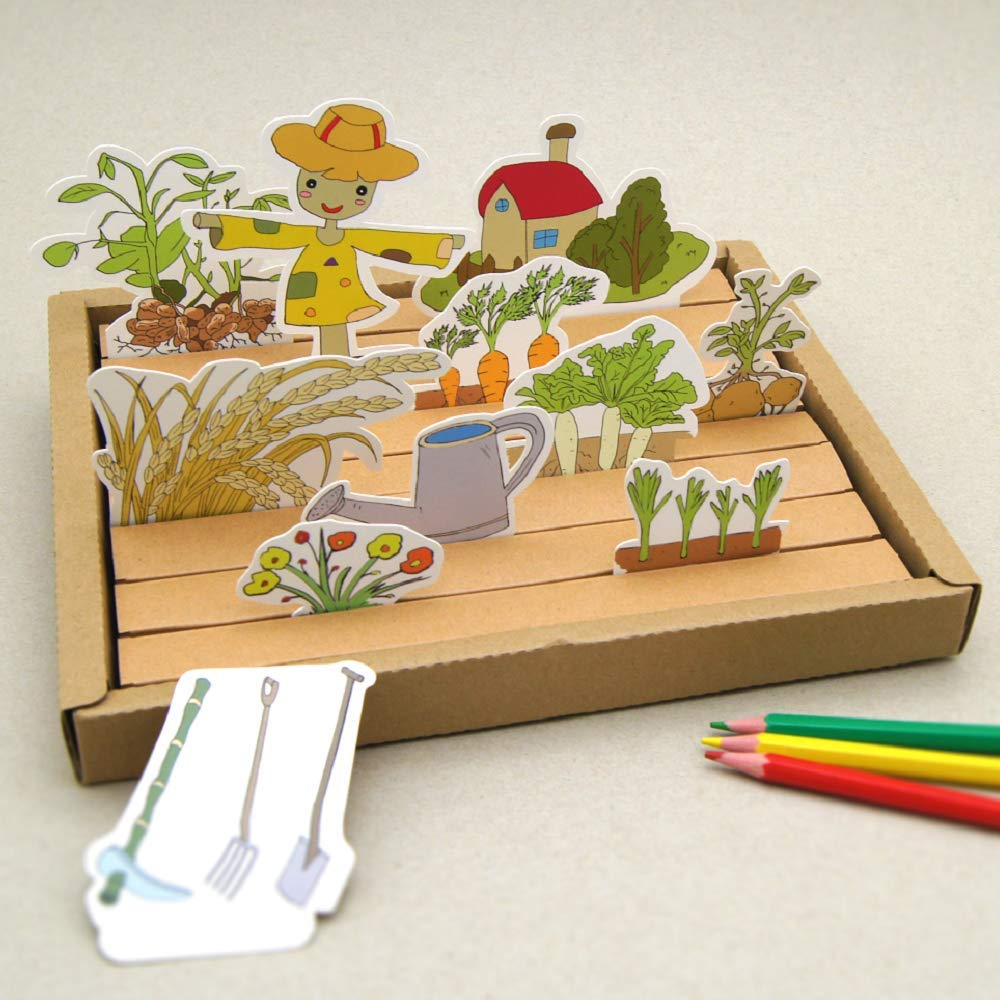 Nosto Early Childhood Toy Color and Play My Vegetable Garden