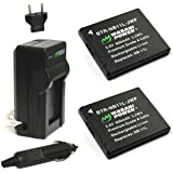 Wasabi Power Battery (2-Pack) and Charger for Canon NB-11L, NB-11LH and Canon PowerShot A2300 IS, A2400 IS, A2500, A2600…