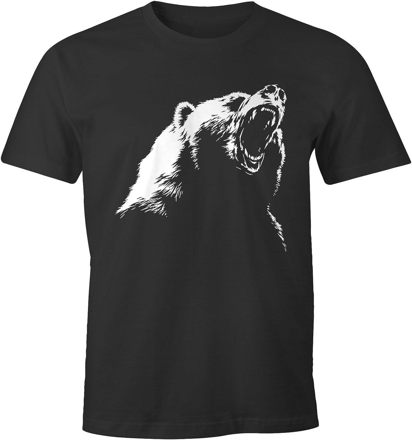 MoonWorks Herren T-Shirt Grizzly B/är
