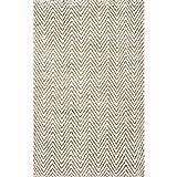 nuLOOM Vania Chevron Jute Rug, 5' x 8', Off White
