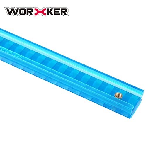 Puzzles WORKER 27.9CM Nylon Grooved Top Rail Mount Kit with Track Joint Parts for NerfKC