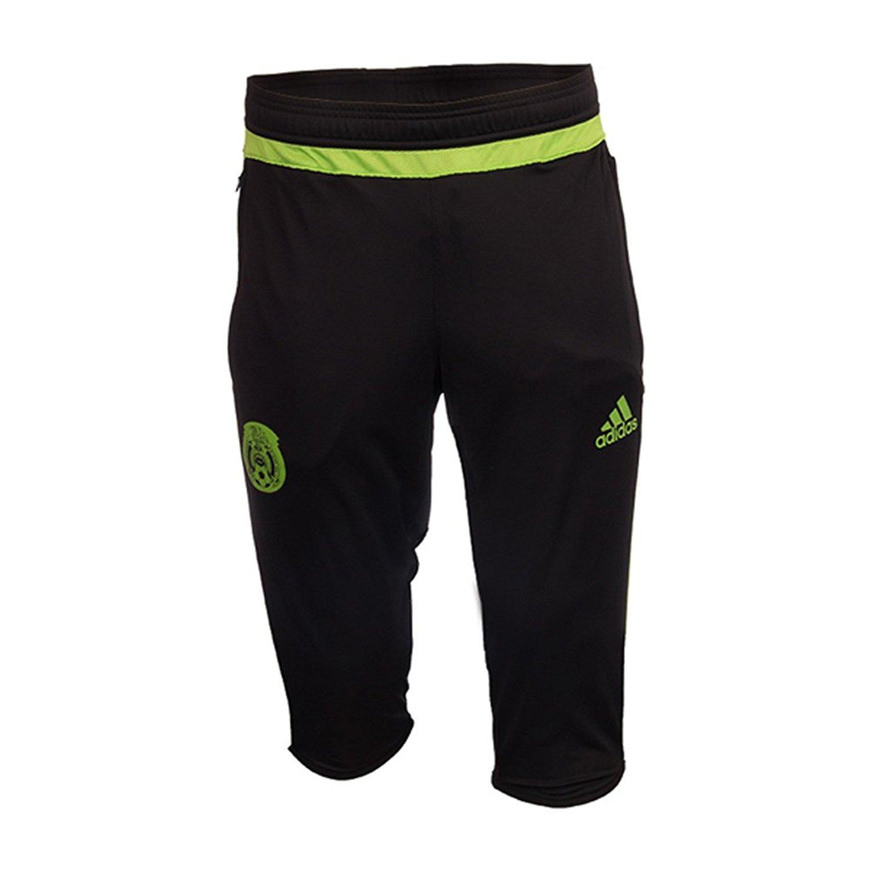 7deab6d927f86 Amazon.com  adidas Mexico 2016 3 4 Training Black SeSoGreen Pants  Sports    Outdoors