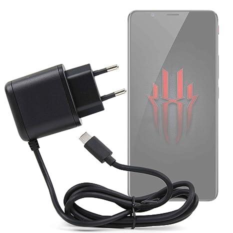 DURAGADGET Cargador de Pared USB C para Smartphone ZTE Nubia ...