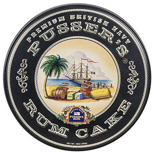 Premium Pusser's Rum Cake (1LB)