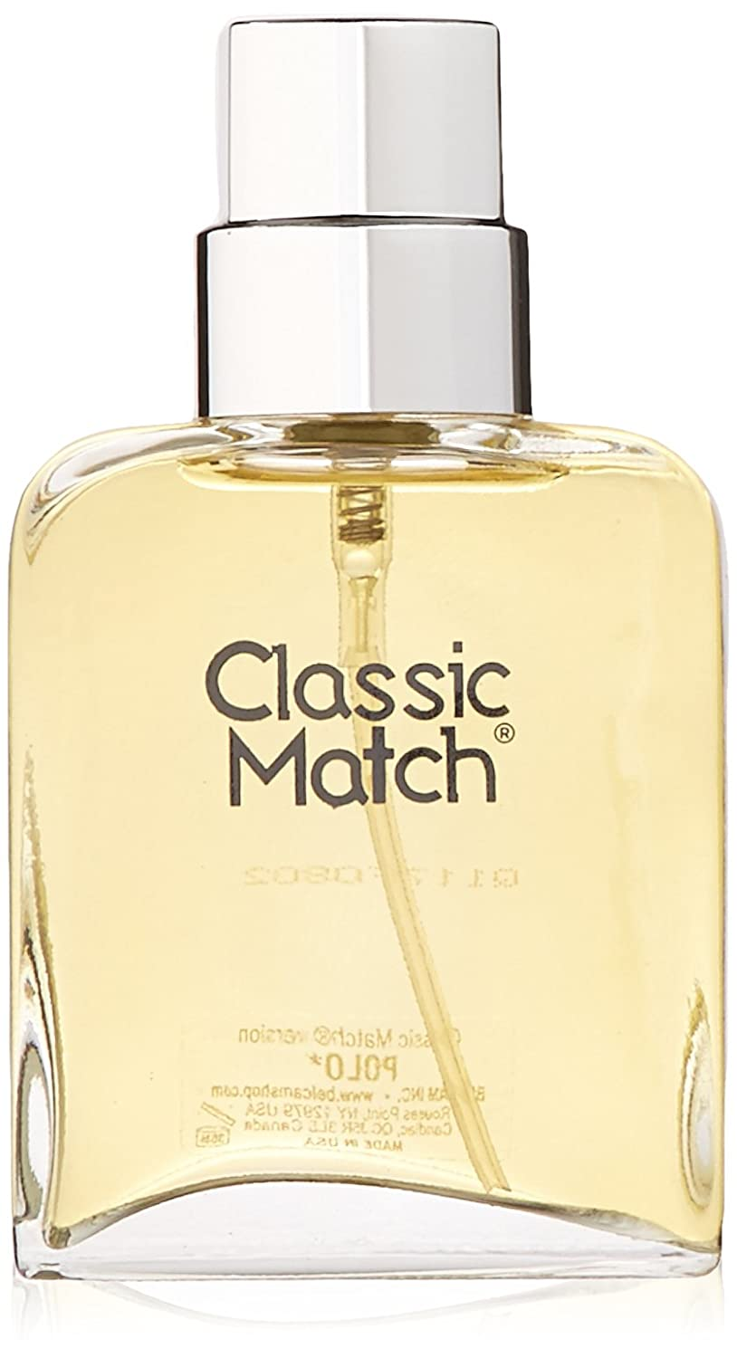 Parfums Belcam 75 ml Men's Fragrance Classic Match Polo Belcam Bath Therapy F37467-04-PO