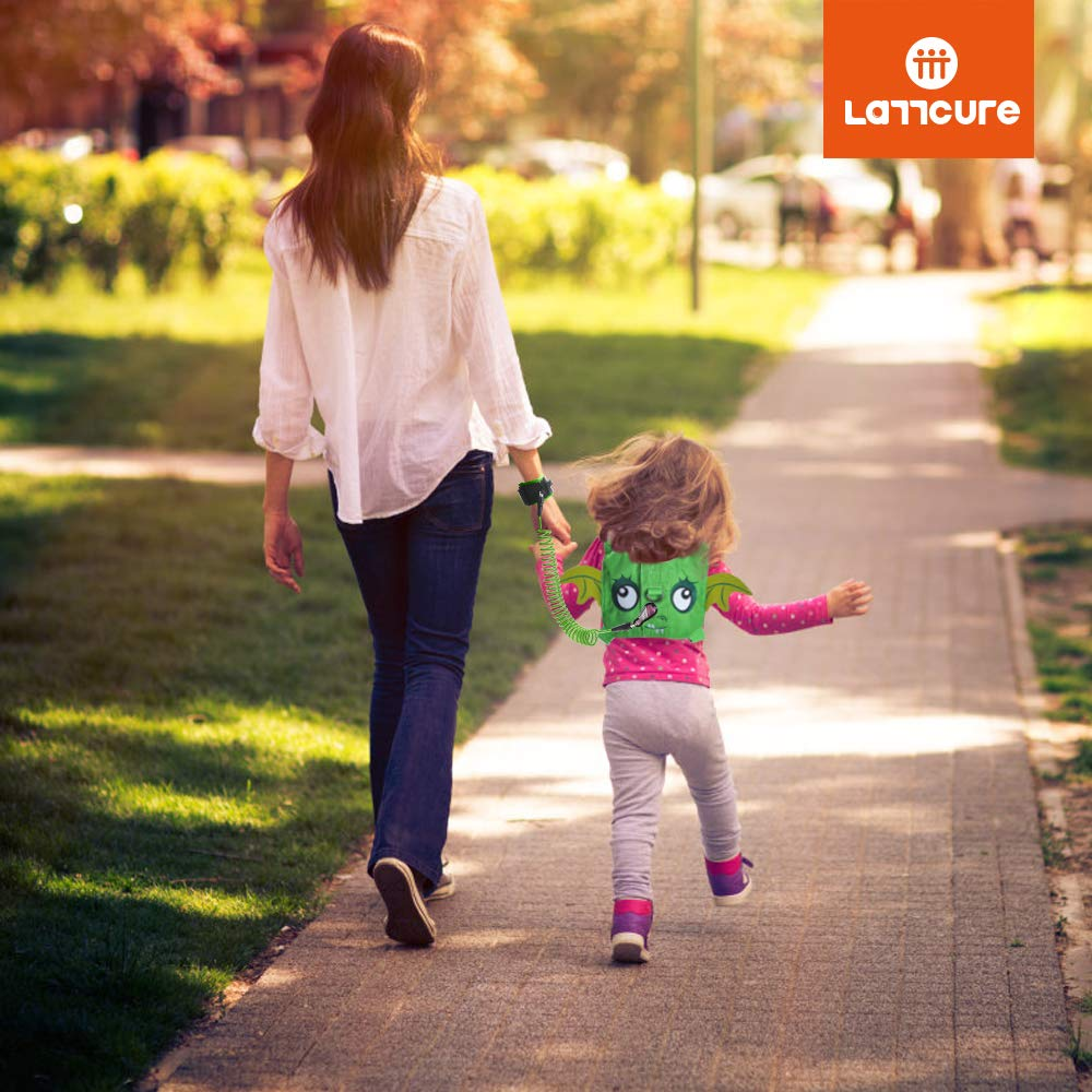 Anti-perte enfant Ceinture de s/écurit/é LATTCURE la laisse de poignet b/éb/é Harnais de s/écurit/é pour enfant sangle anti-perdu ext/érieuse marche sortie gar/çon fille Poudre