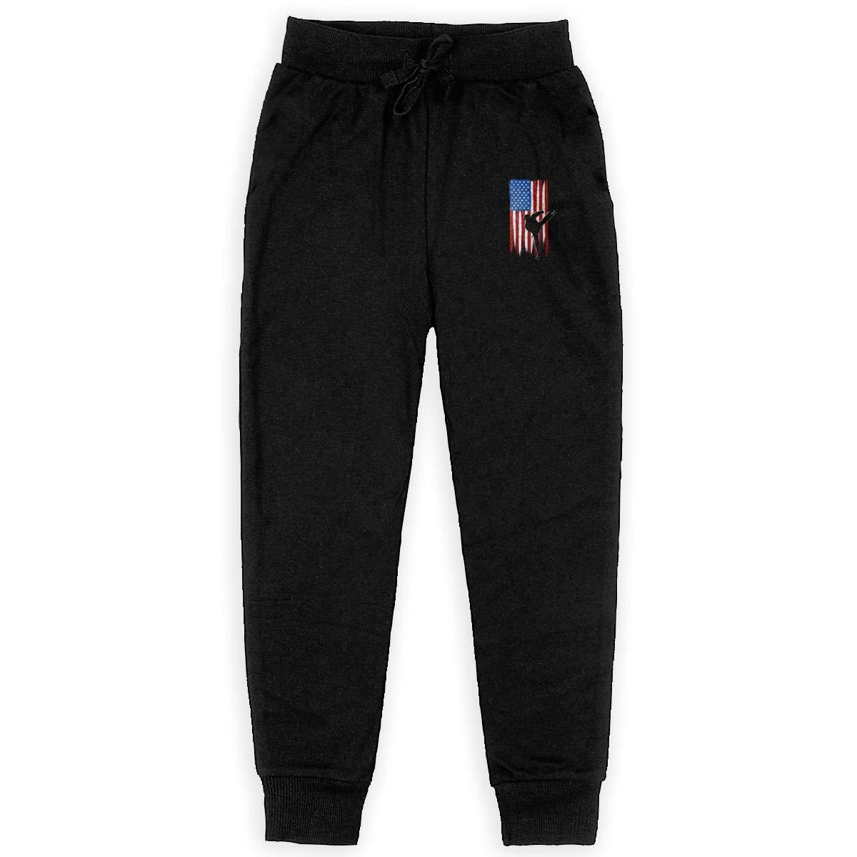 Qinf Boys Sweatpants 32536449/_162 Joggers Sport Training Pants Trousers Black