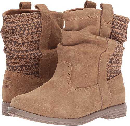 Toms Youth Laurel Suede Boot, Size: 2 M US Little Kid, Color: Toffee Suede/Mud - 2 Hut