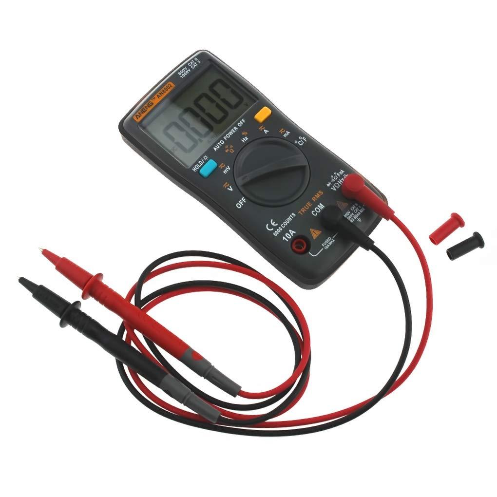 Uzinb ANENG AN8002 multímetro de 6000 Cuentas Volver CA Luz/DC del ...