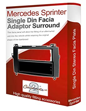 Connects2 - Embellecedor y soporte para radio CD de Mercedes Sprinter: Amazon.es: Electrónica