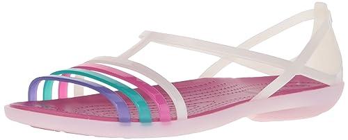 6e0a2dcc55c crocs Women s Isabella Flat Sandal