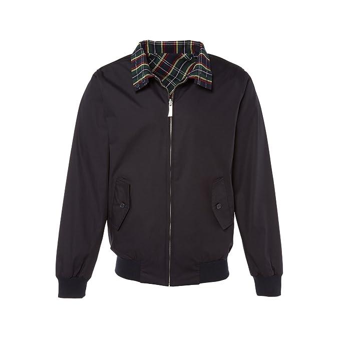 Abbigliamento Uomo Harrington Cappotto Amazon it Reversible Xw4q1