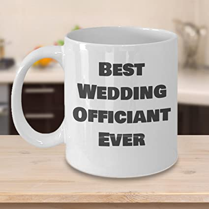 Amazon Best Wedding Officiant Ever Mug Funny Gift Idea For