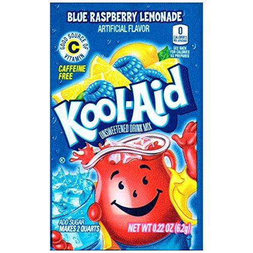 Kool-Aid Twists Ice Blue Raspberry Lemonade Caffeine Free Unsweetened Soft Drink Mix (Kool Aid Twists Ice Blue Raspberry Lemonade)