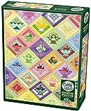 Cobble Hill Puzzles Fruit Basket Quilt 1000 Piece Art Jigsaw Puzzle
