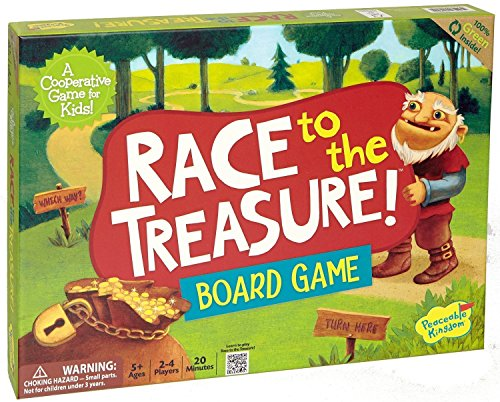 Peaceable Kingdom / Race to the Treasure! Cooperative Board Game