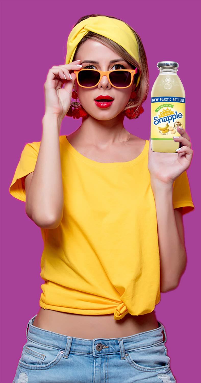 Snapple - Go Bananas - 16 fl oz (24 Plastic Bottles) by Snapple (Image #6)