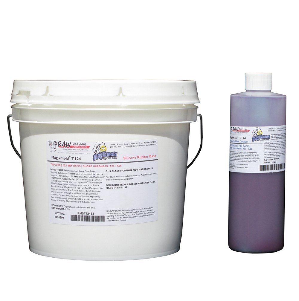 Magikmold T-124 Tin Cure Silicone 8.8 lb Kit Lavender (Formerly 6142)