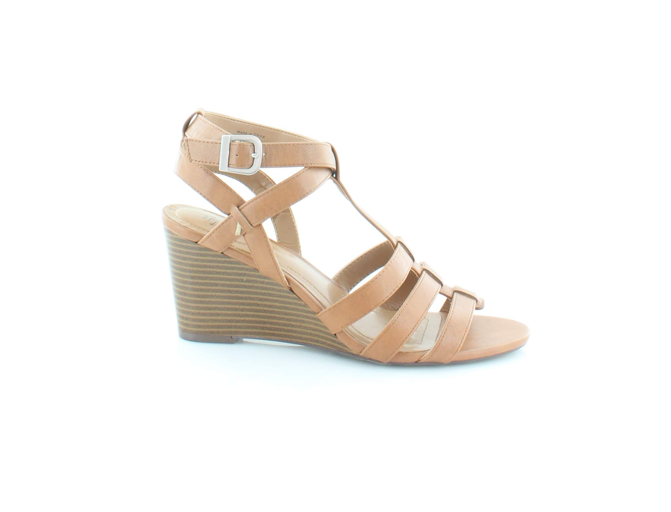 Style & Co. Womens Haydar Open Toe Casual Platform Sandals, Coffee, Size 10.0 by Style & Co.