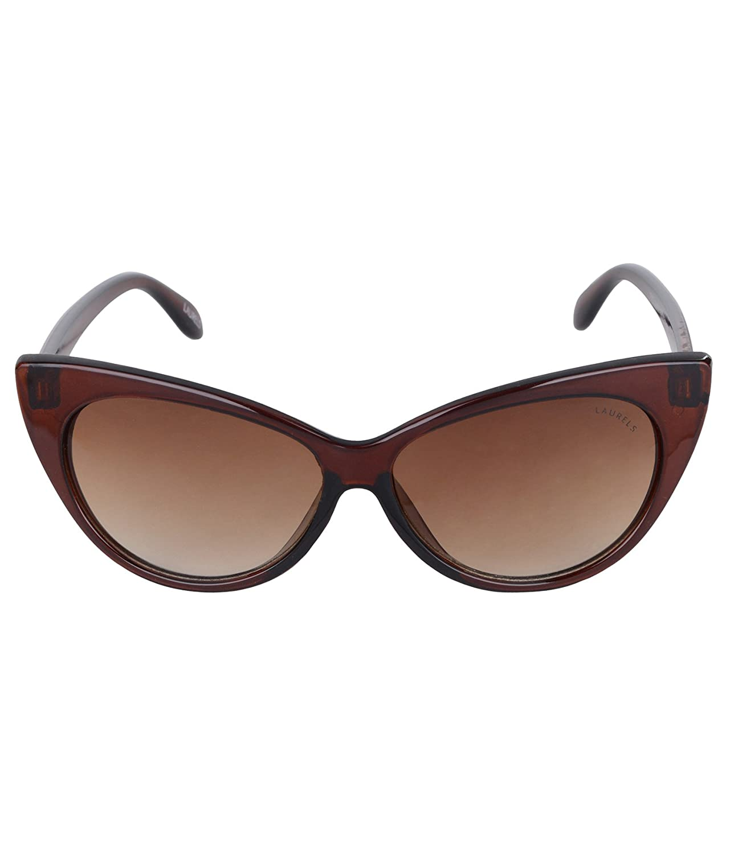 cf20c39e94 Laurels Brown Cat Eye Sunglasses (Lsw-Katty-090909)  Amazon.in  Clothing    Accessories