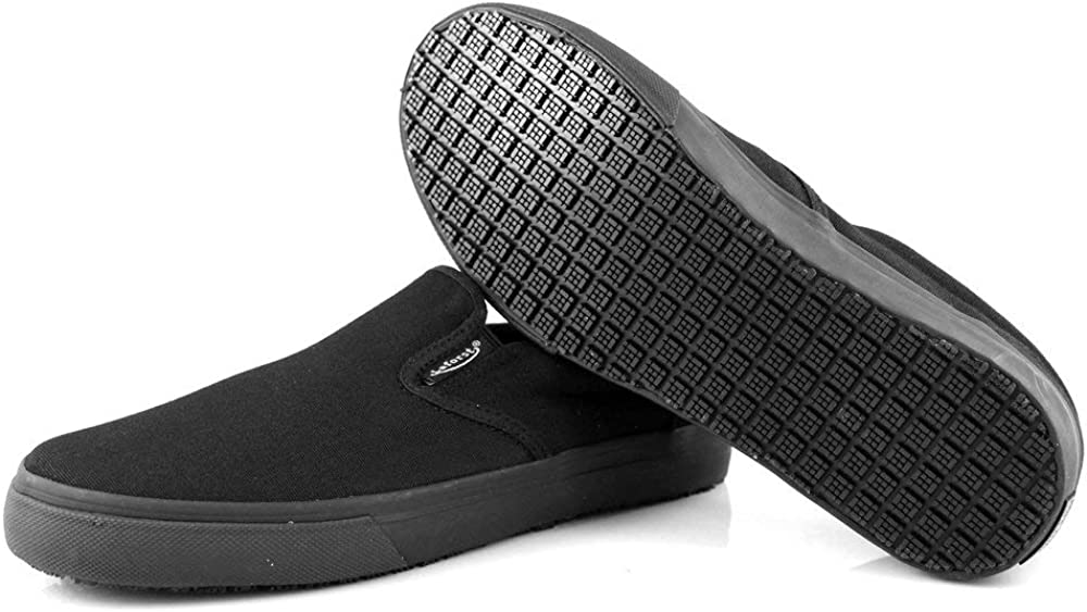 Laforst Nextgen Footwear Womens Sunbrella Slip Resistant Waitress Server Slip On Flat