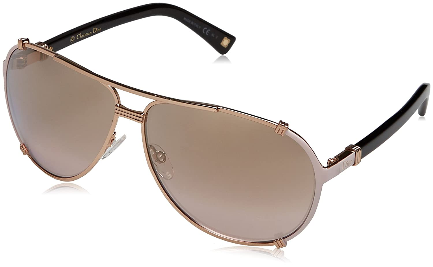 d635584ad3 Amazon.com  New Dior Sunglasses Womens DIORCHICAGO2 Pink HFBOR DIORCHICAGO2  63mm  Clothing