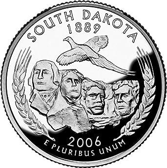 2006-D North Dakota State Quarter Brilliant Uncirculated Coin