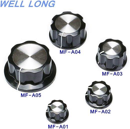 5pcs MF-A01 MF-A02 MF-A03 MF-A04 MF-A05 Potentiometer Knob WH118//WX050 Rotary