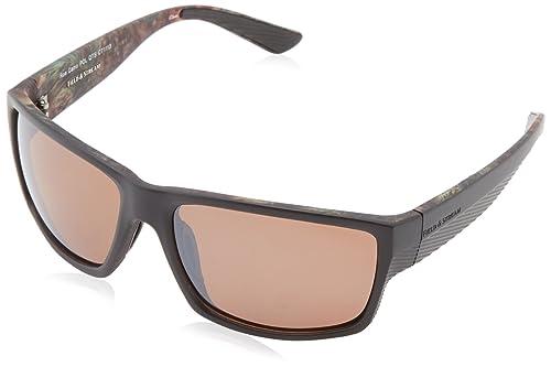 Amazon.com: Campo & Stream Roe polarizada cuadrado anteojos ...