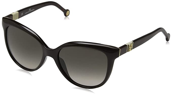d49336089e Carolina Herrera SHE697 DARK BROWN/GREY GRADIENT (06XK) - Gafas de sol:  Amazon.es: Ropa y accesorios