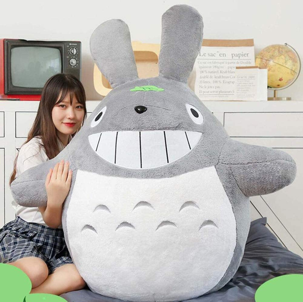 Amazon Com Cyhy My Neighbor Totoro Plush Doll For Hayao Miyazaki Animals Soft Toy Pillow Cushion For Kids Girl Gift Home Decoration Several Sizes Size 50cm Home Kitchen