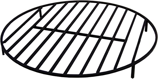 B M Round Grate Fire Pit 22''