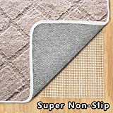 Enjoy Holiday 1981 Non Slip Area Rug Pad - 8 × 10, Area Runner Rug Pad for Hardwood Floor, Super Strong Grip, Provides Protection and Cushion